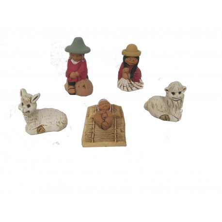 PRESEPE TERRACOTTA PUNO SET