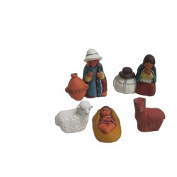 PRESEPE TERRACOTTA PORONGO SET