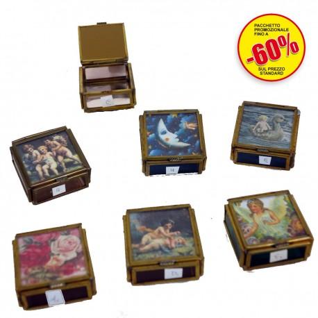 Scatole vetro quadrate piccole asian products snc for Piccole case quadrate