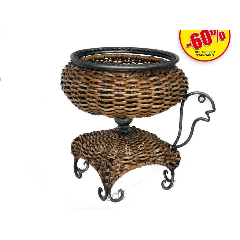 Vasi ferro rattan asian products snc for Vasi in rattan