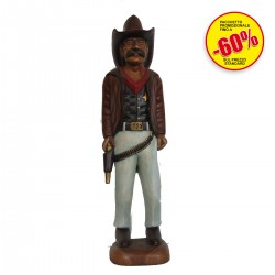 STATUE COWBOY IN PIED.35