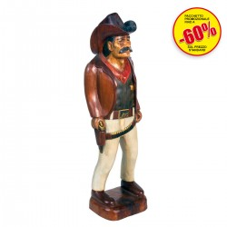 STATUE COWBOY IN PIED.40