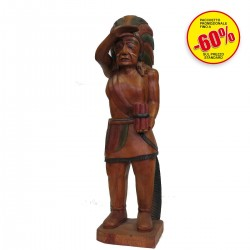 STATUE INDIANO 35""