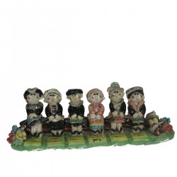 MINIATURE TAI TRIBU  6 COSTUMI