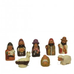 PRESEPE TERRACOTTA MINI SET