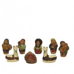 PRESEPE TERRACOTTA GORDITOS MINI SET