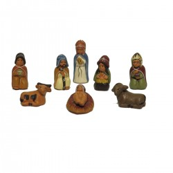 PRESEPE TERRACOTTA N.51 SET