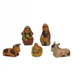 PRESEPE TERRACOTTA AE4 SET