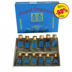 PROFUMO OLIO SET 12 ASSORTITI